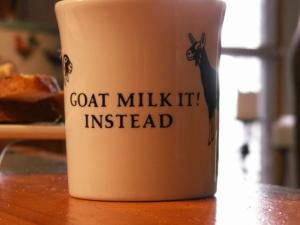 Goat Milk it instead!